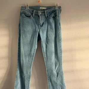 Levi Strauss & Co. Light Washed Bootcut Jeans